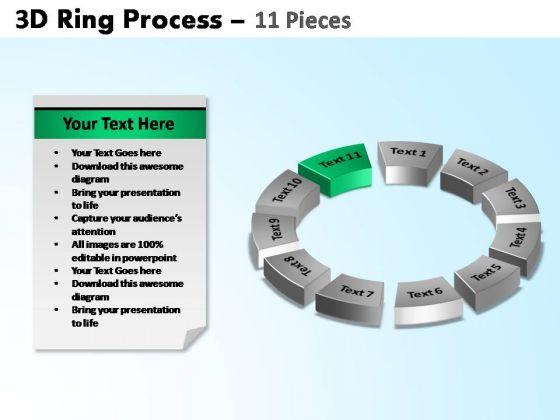 PowerPoint Slidelayout Diagram Ring Process Ppt Presentation Designs