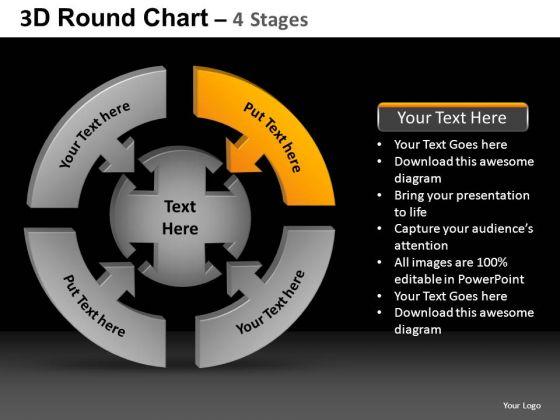 PowerPoint Slidelayout Diagram Round Chart Ppt Design Slides