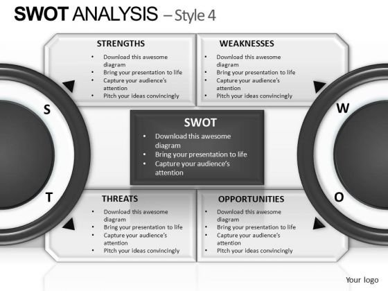 PowerPoint Slidelayout Diagram Swot Analysis Ppt Slidelayout