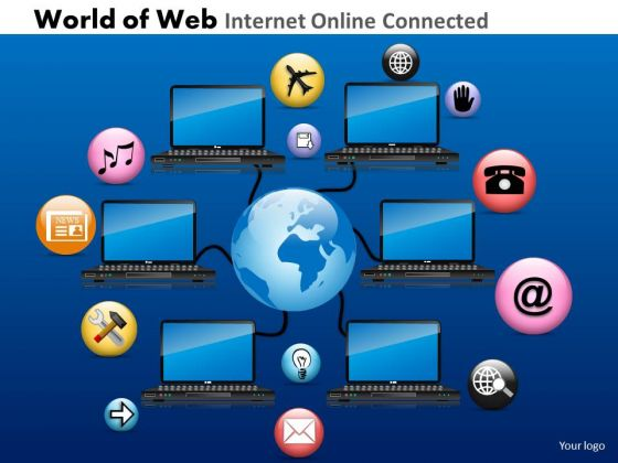 PowerPoint Slidelayout Download World Of Web Ppt Slide Designs