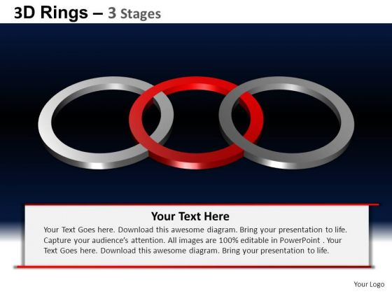 PowerPoint Slidelayout Editable Rings Ppt Slides