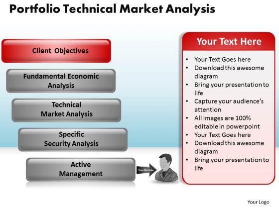 PowerPoint Slidelayout Education Portfolio Technical Market Ppt Designs