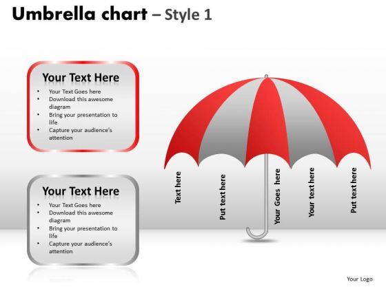 PowerPoint Slidelayout Education Umbrella Chart Ppt Slide Designs
