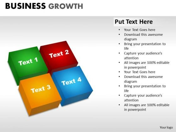 PowerPoint Slidelayout Graphic Business Growth Ppt Layout
