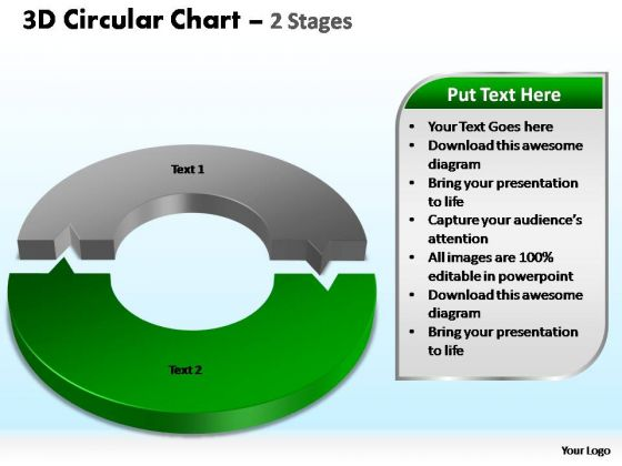 PowerPoint Slidelayout Graphic Circular Chart Ppt Theme