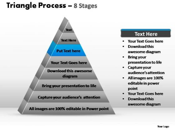 PowerPoint Slidelayout Graphic Triangle Process Ppt Design
