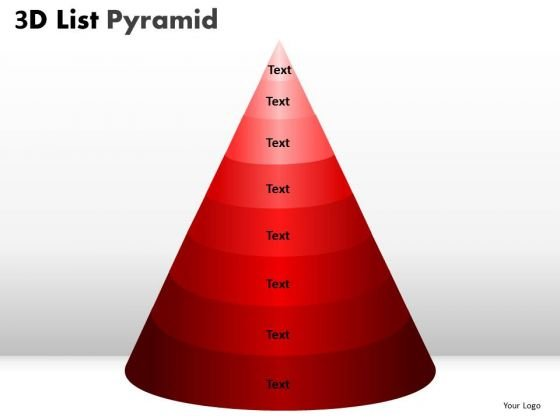 PowerPoint Slidelayout Growth Bulleted List Pyramid Ppt Layouts