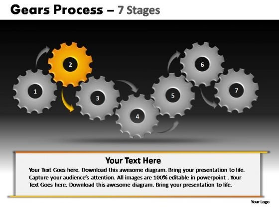 PowerPoint Slidelayout Growth Gears Process Ppt Presentation