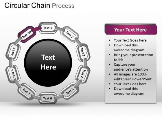 PowerPoint Slidelayout Image Circular Chain Ppt Layouts