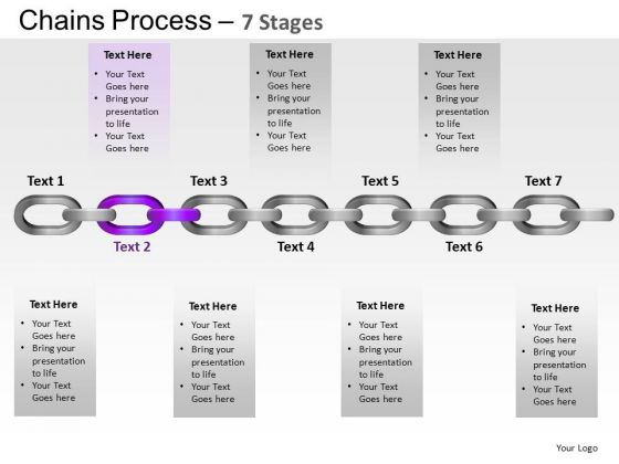 PowerPoint Slidelayout Leadership Chains Process Ppt Backgrounds