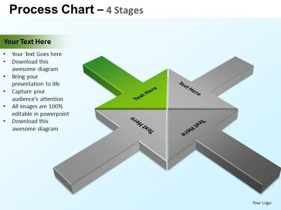 PowerPoint Slidelayout Leadership Process Chart Ppt Slide