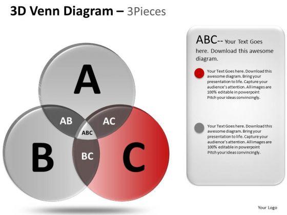 PowerPoint Slidelayout Marketing Venn Diagram Ppt Slides
