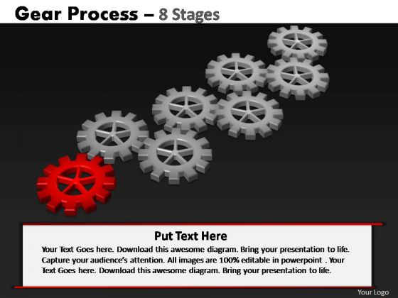 PowerPoint Slidelayout Process Gears Process Ppt Design Slides