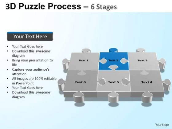 PowerPoint Slidelayout Process Puzzle Process Ppt Design Slides