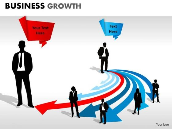 PowerPoint Slidelayout Strategy Business Growth Ppt Template