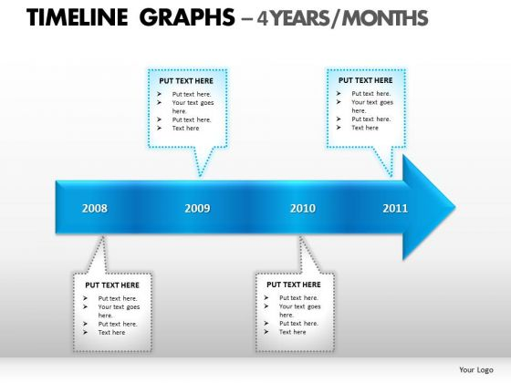 PowerPoint Slidelayout Strategy Timeline Graphs Ppt Slides