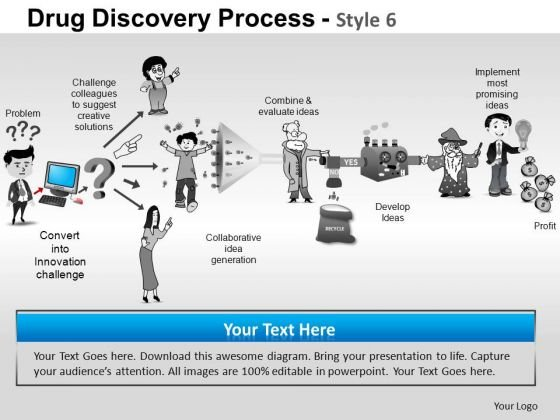 PowerPoint Slidelayout Success Drug Discovery Ppt Designs