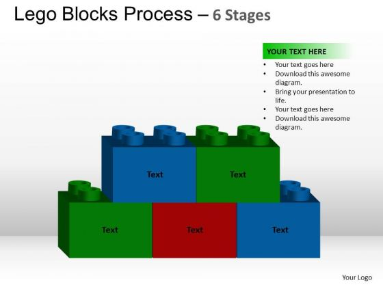 PowerPoint Slidelayout Success Lego Blocks Ppt Backgrounds
