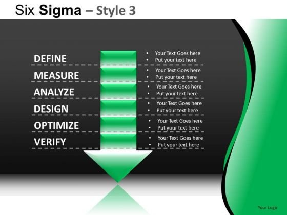 PowerPoint Slides Business Designs Six Sigma Ppt Layout