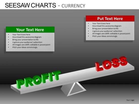 PowerPoint Slides Business Education Seesaw Charts Currency Ppt Themes