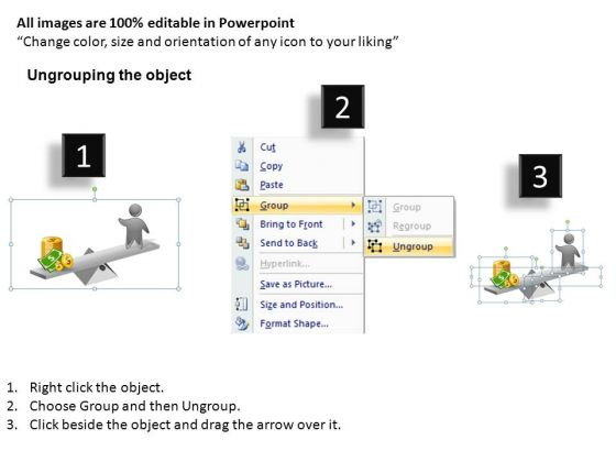 powerpoint_slides_business_growth_seesaw_charts_currency_ppt_slides_2