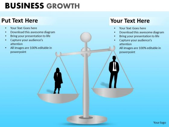 PowerPoint Slides Business Leadership Business Growth Ppt Slides