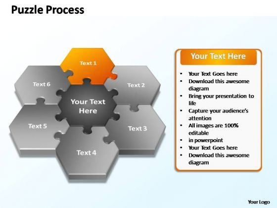 PowerPoint Slides Business Puzzle Ppt Presentation