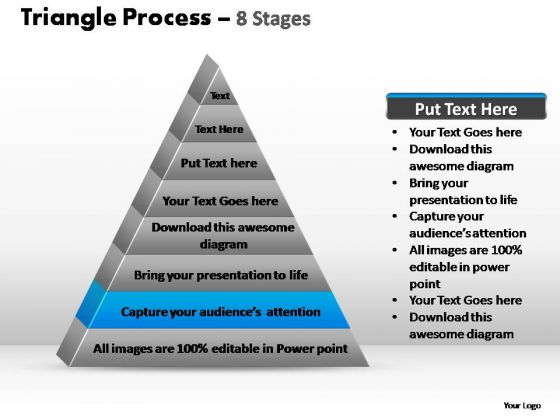PowerPoint Slides Business Triangle Process Ppt Designs