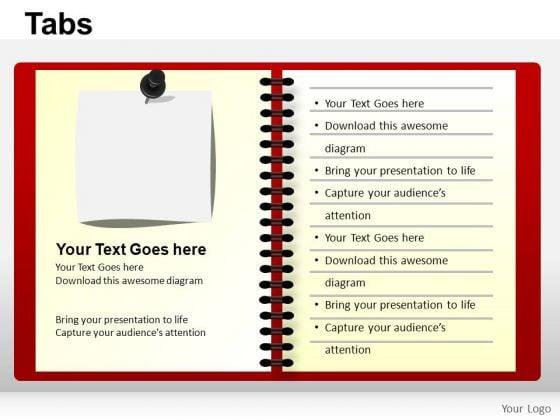 PowerPoint Slides Chart Tabs Ppt Design