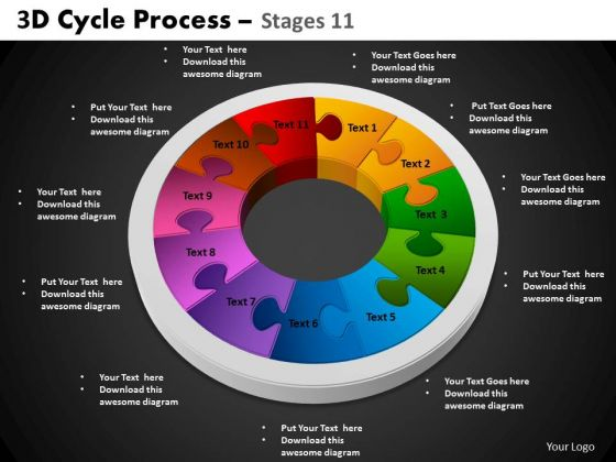 PowerPoint Slides Circle Process Cycle Process Ppt Process