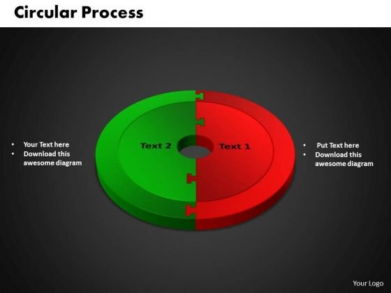 PowerPoint Slides Circular Growth Ppt Themes