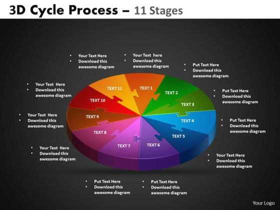 PowerPoint Slides Circular Process Cycle Process Ppt Layouts