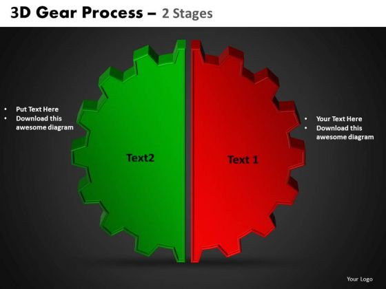 PowerPoint Slides Circular Process Gear Process Ppt Layouts