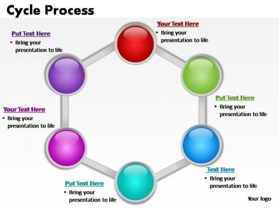 PowerPoint Slides Company Cycle Process Ppt Slide