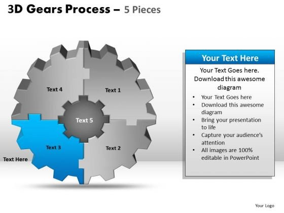 PowerPoint Slides Company Gear Process Ppt Process