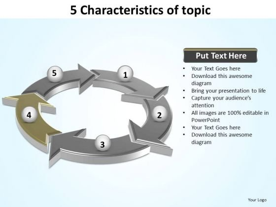 PowerPoint Slides Download Characteristics Of Topic Ppt Designs