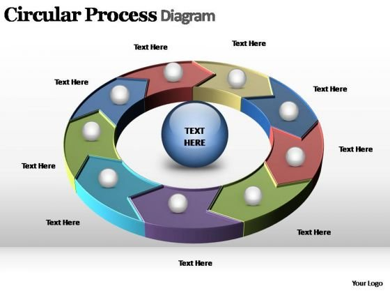 PowerPoint Slides Download Circular Process Ppt Presentation