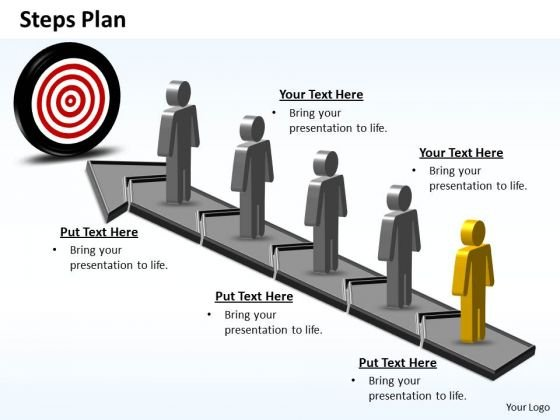 PowerPoint Slides Download Steps Plan 5 Stages Style 6 Ppt Presentation