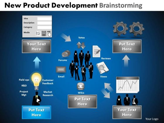 PowerPoint Slides Editable Development Brainstorming Ppt Themes