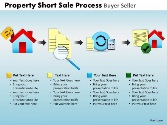 PowerPoint Slides Editable Property Short Sale Ppt Theme