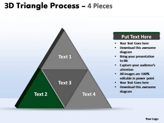 PowerPoint Slides Editable Triangle Process Ppt Presentation Designs