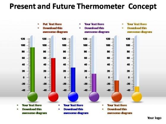 PowerPoint Slides Education Thermometer Ppt Themes