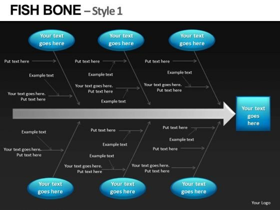 PowerPoint Slides Fishbone Diagrams Templates