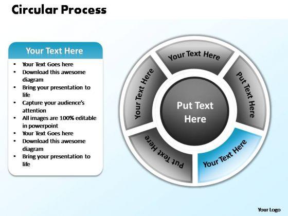 PowerPoint Slides Global Circular Process Ppt Design