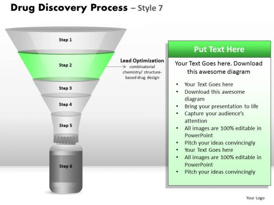 PowerPoint Slides Graphic Drug Discovery Ppt Design