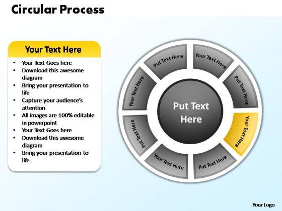 PowerPoint Slides Growth Circular Process Ppt Presentation