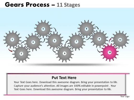 PowerPoint Slides Growth Gears Ppt Design Slides