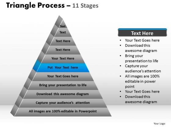PowerPoint Slides Image Triangle Process Ppt Designs