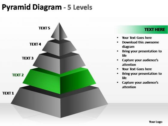 PowerPoint Slides Leadership Cone Diagram Ppt Slides