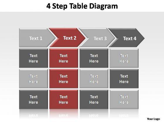 PowerPoint Slides Leadership Table Diagram Ppt Presentation Designs